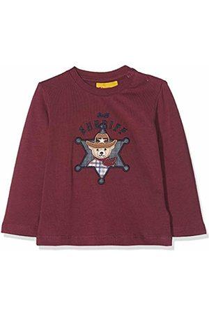 Steiff Baby Boys 1/1 Arm Longsleeve T - Shirt (Burgundy|