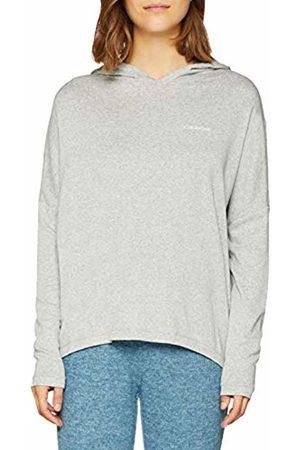 Calvin Klein Women's L/s Hoodie Sweatshirt ( Heather 020)