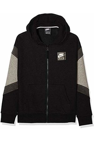 Nike Boy's B Nk Air Hoodie Fz Sports Carbon Heather/Anthracite/ 010