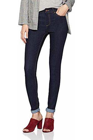 Pieces Women's Pcfive Delly B157 Mw JNS Db305-ba Skinny Jeans Dark Denim