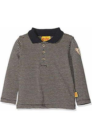 Steiff Baby Boys' Poloshirt 1/1 Arm Polo Shirt (Marine|
