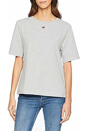 Tommy Hilfiger Women's Bn Tee Half T-Shirt ( Heather 004)