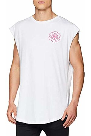 Scar Tissue Men's Tropical Sleeveless T - Shirt ( BLK)