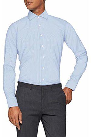 Seidensticker Men's X-Slim Langarm mit Kent-Kragen Bügelfrei Gestreift Business Shirt