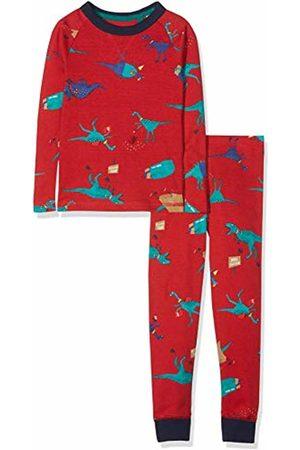 Joules Boy's Kipwell Pyjama Sets ( Dino Reddino) Years (Manufacturer Size: 7-8)