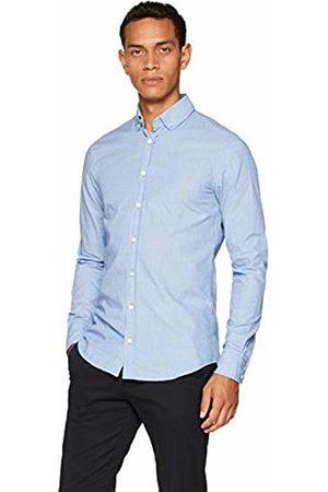 HUGO BOSS Casual Men's Mabsoot Shirt (Bright 431)