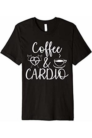 Coffee And Cardio Shirt Coffee And Cardio T-shirt Workout & Caffeine Tee