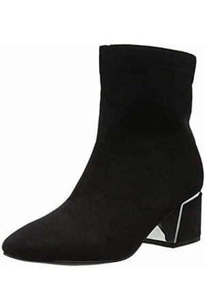 Lost Ink Women's Jessie Metal Heel Detail Ankle Boot ( 0001)