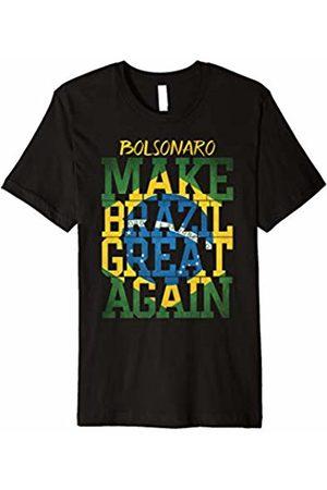 Bolsonaro Presidente T-shirt Bolsonaro 2018 para presidencia do Brasil Shirt