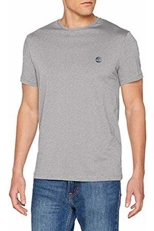 Timberland Men's Ss Crew Chest Logo Tee T-Shirt (Medium Heather 052)