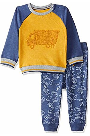 Mothercare Baby Boys' Truck Crew and Jog Set Tracksuit, (Darks Multi)
