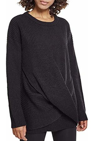 Urban classics Women's Ladies Wrapped Sweater Sweatshirt ( 00007)