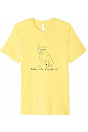 Ann Arbor Boston Terriers Are People Too! | Cute Dog Breed T-shirt