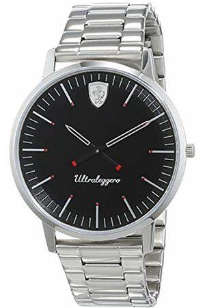 Scuderia Ferrari Mens Analogue Classic Quartz Watch with Stainless Steel Strap 0830560
