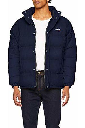Schott NYC Men's Nebraska Jacket, Navy