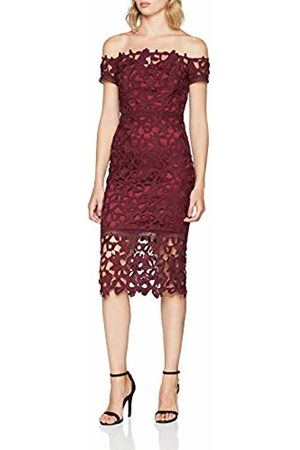 Chi Chi London Women's Anna Cocktail Short Sleeve Party Dress