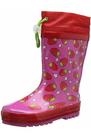 Playshoes Unisex Kids' Gummistiefel Erdbeeren Wellington Boots