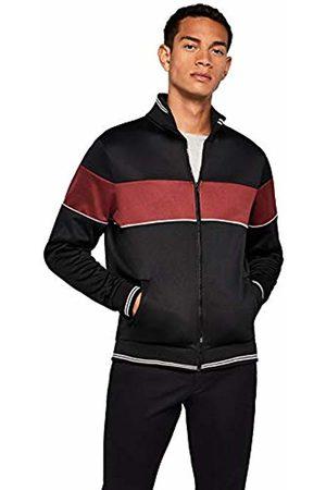 FIND Men's Striped Jersey Track Jacket
