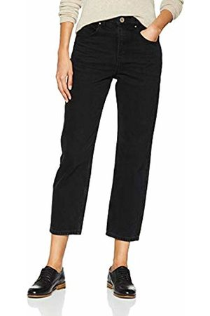 Lost Ink Women's HIGH Waist Straight Draco Trousers (Washed 0003)