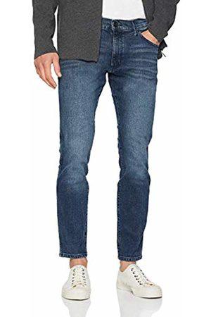 Wrangler Men's Larston Tapered Fit Jeans (Jet 32B)