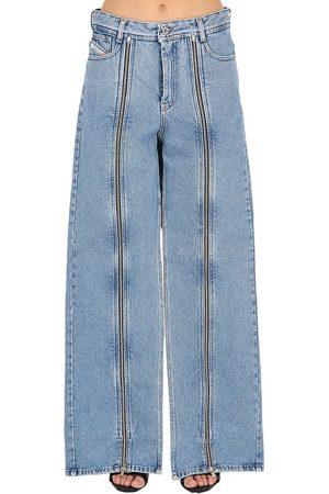SHAYNE OLIVER X DIESEL Shayne Oliver Zip-up Cotton Denim Jeans