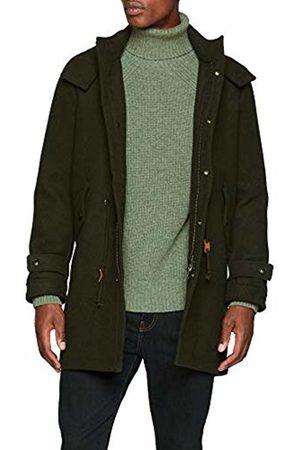 ScalperS Men's Hudson Parka Paño Khaki Jacket, 16535