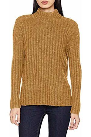 Pieces Women's Pcsanni Ls Wool Knit Noos Jumper (Nugget Detail: Melange)