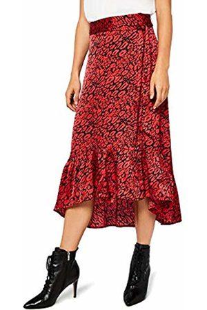 FIND Women's Animal Print Skirt, ( Animal)
