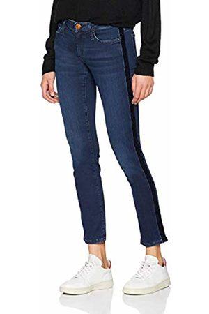 True Religion Women's Halle Velvet Stripe Washed Skinny Jeans ( 4318)