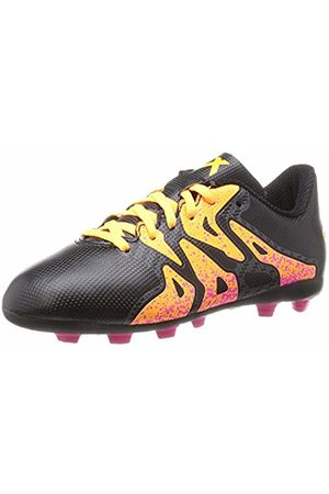 adidas Unisex Kids' X 15.4 FxG Football Boots, -Schwarz (Core /Shock /Solar )
