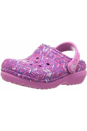 Crocs Unisex Kids' Classic Lined Graphic Clog Kids Clogs