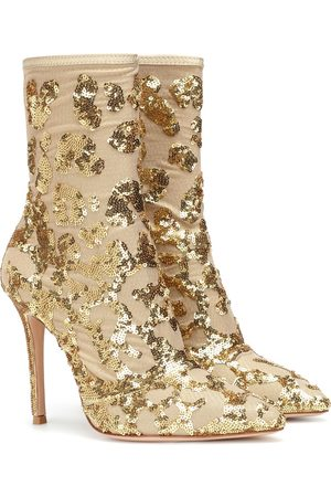 Gianvito Rossi Women Ankle Boots - Exclusive to Mytheresa – Daze sequined ankle boots