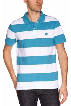 Timberland Men's Polo Shirt - - Bleu (Bluejay) - Large