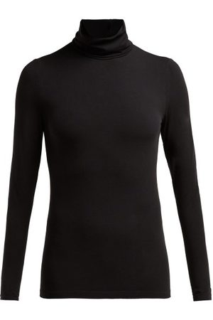 Wolford Women Sports Tops - Roll-neck Jersey Top - Womens