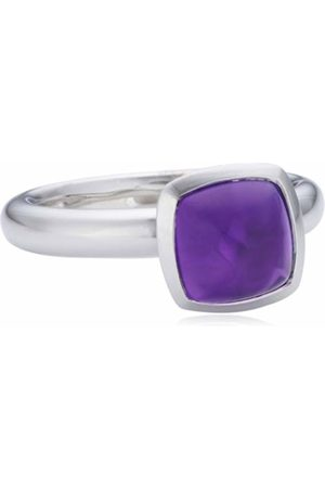 Viventy Choose Me Ladies' Ring 925 Sterling 1 Synthetic Amethyst EU Size 54 mm (17.2) 765171