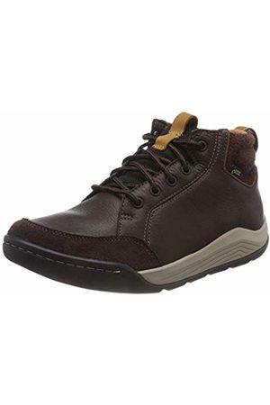 Clarks Men's Ashcombemidgtx Chelsea Boots (Dark Lea)
