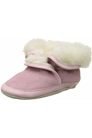 Robeez Unisex Babies' COSYWOOL Birth Shoes (Rose Clair 131)