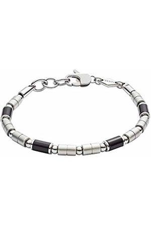 Fossil Men Stainless Steel Stretch Bracelet - JF02924040