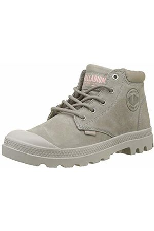 Palladium Women''s Pampa Lo Cuff Lea Ankle Boots