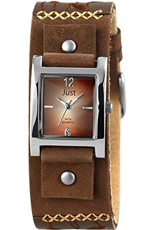 Just Watches Women's Quartz Watch 48-S10626-BR with Leather Strap