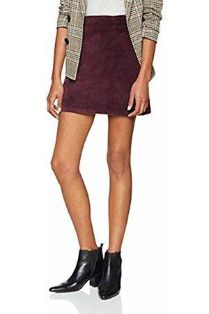 warehouse Women's Velvet Skirt
