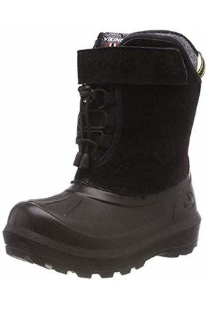 Viking Unisex Kids' NORDLYS Suede Snow Boots ( /Dark 291)