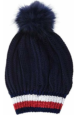 Tommy Hilfiger Women's Corporate Chunky Beanie, Navy 413