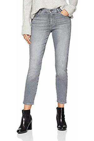 HUGO BOSS Casual Women's J21 Roseville Straight Jeans (Medium 037)