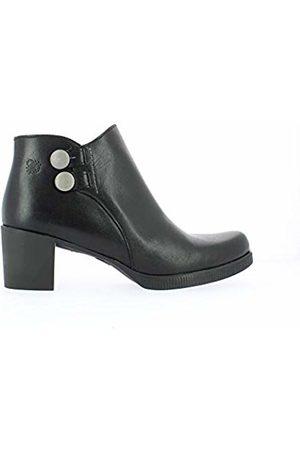 Yokono Women's Dana Ankle Boots, (Negro 004)