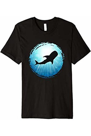 XASTY Scuba Diving Freediving Apnea Dive Shirts Whale Shark blue Ocean Apnea Scuba Diving Freediving Shirt