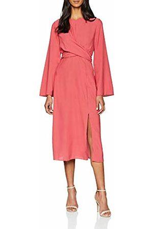 Miss Selfridge Women's Twist Front midi Dress (Manufacturer Size: 10)