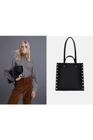 f48b5681 Zara studded-clutch women's shopper & tote bags, compare prices and buy  online