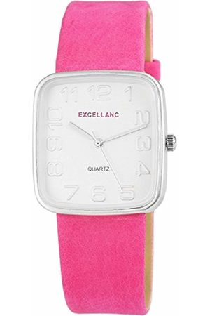 Excellanc Women's Quartz Watch with different materials 195225500028