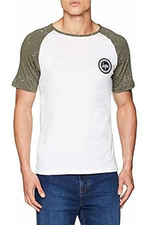 Hype Men's Splat Raglan T - Shirt (Bianco / )